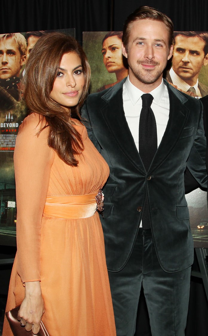 Is This Eva Mendes's Engagement Ring?! (Nice Choice, Ryan)