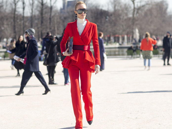 Seeing Scarlet: How To Wear AW15's Hottest Shade