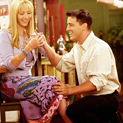 Turns Out, Phoebe & Joey REALLY Wanted To Get Together In Friends...