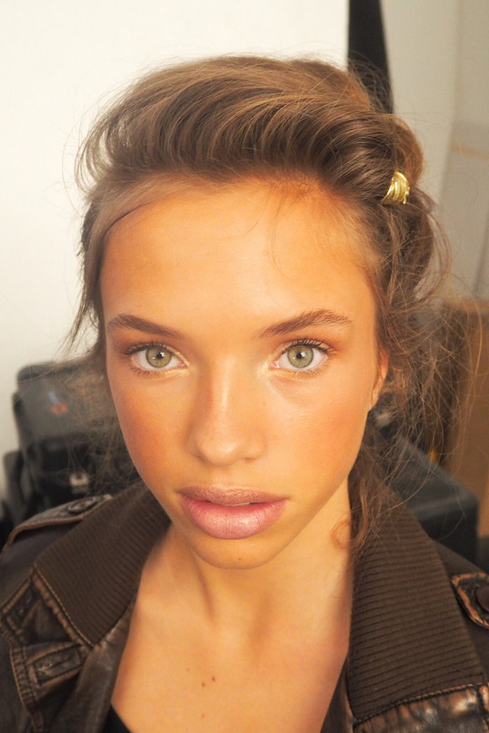 A Double Take On Skin: The Beauty We Saw Backstage At Milan Fashion Week Day 1