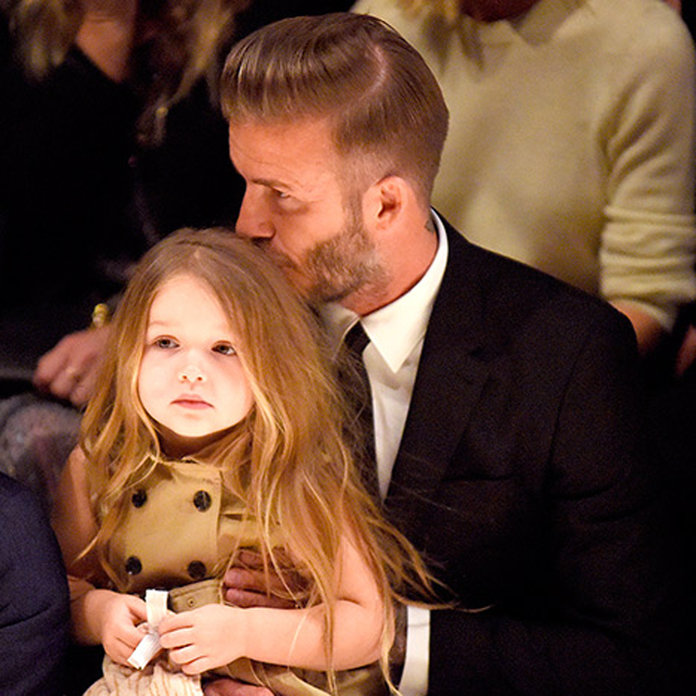 David Beckham Is Single Handedly Responsible For Harpers Gorgeous Hair