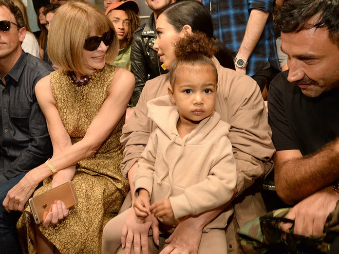 A Lesson In Stealing Someone's Thunder, As Told By North West At Kanye's Yeezy Show