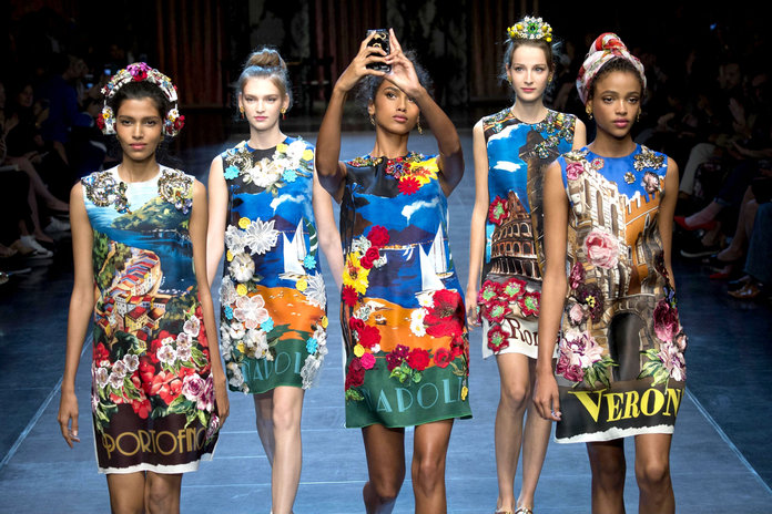 How Dolce & Gabbana Invented The High Fashion Selfie