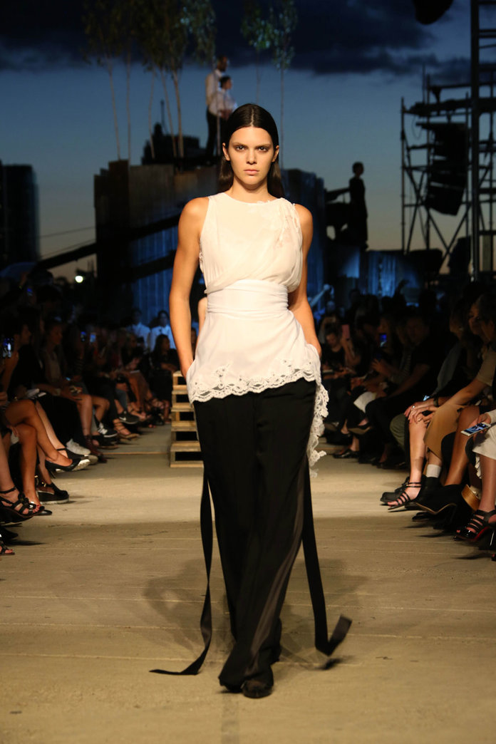 Givenchy's NYFW Debut: Kendall Jenner Walks The Catwalk In A Tribute To New York