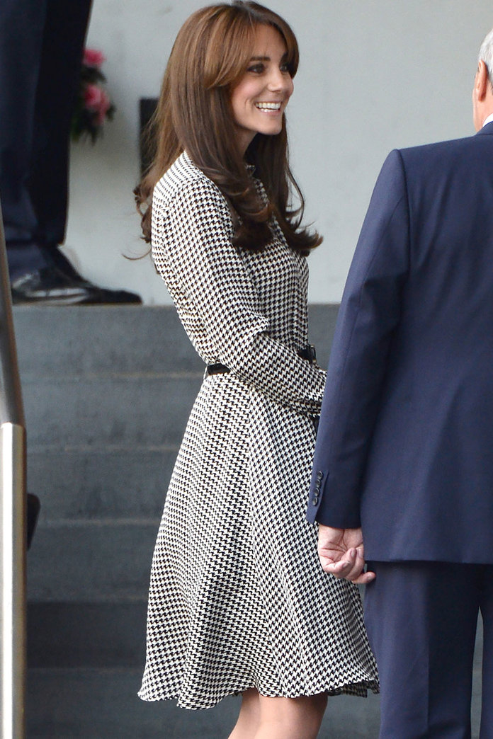 Kate Middleton Puts A Very Stylish Foot Forward As She Resumes Her Royal Duties