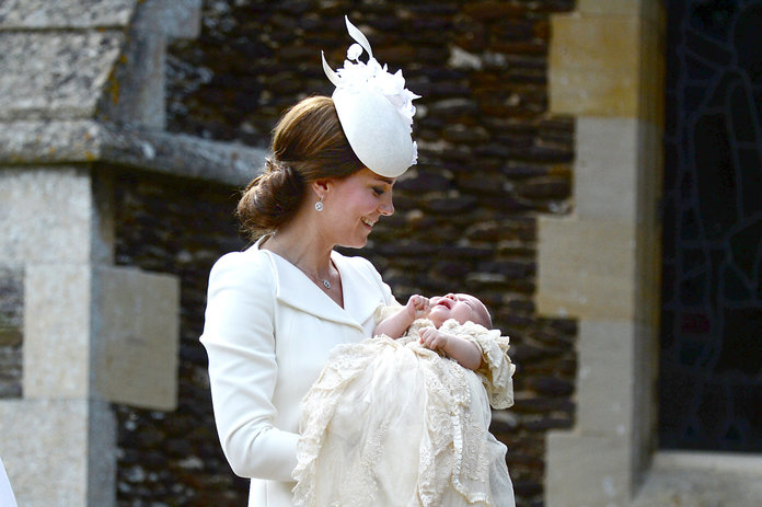 Don't Expect To See Princess Charlotte In A Dress Anytime Soon...