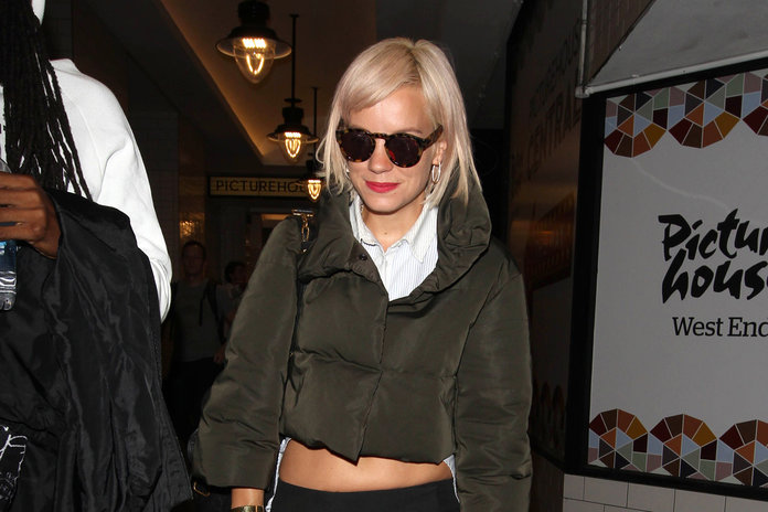 Rita Ora And Lily Allen Lead The Charge With Autumn's New Hair Trend: Faded Peach.