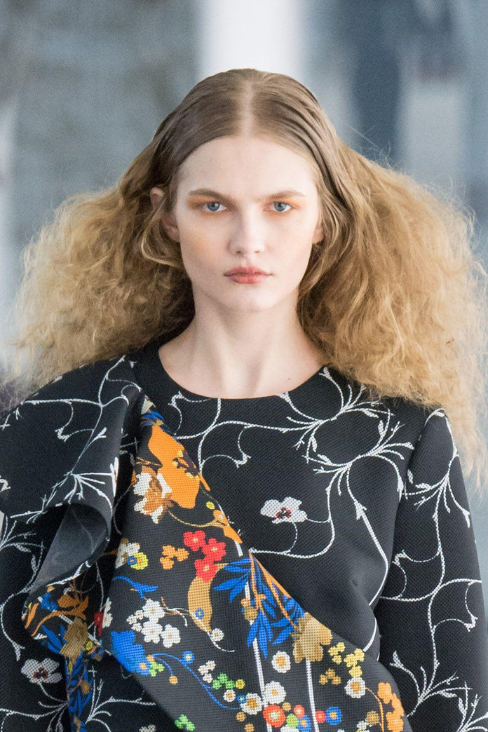 Crimped Hair Hair How To With Crimpers Instyle Co Uk
