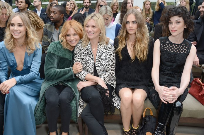 Burberry's SS16 Show: What We Saw From The FROW