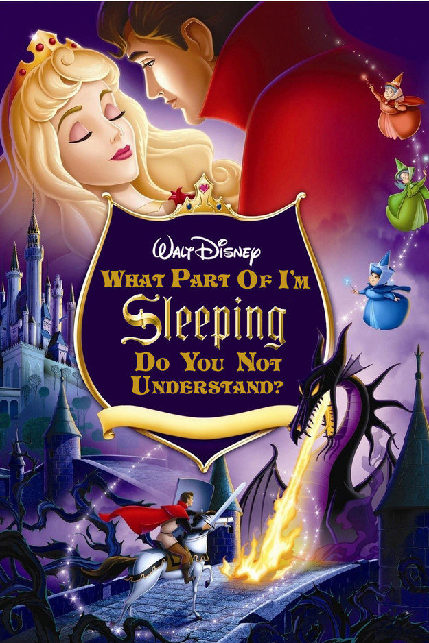 Here's What Disney Films Look Like When The Princesses Tell It Like It REALLY Is