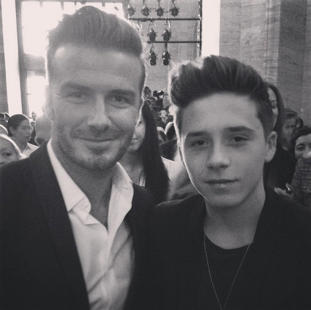 It's Official: David Beckham Has Been Dethroned By Brooklyn (His Words, Not Ours)