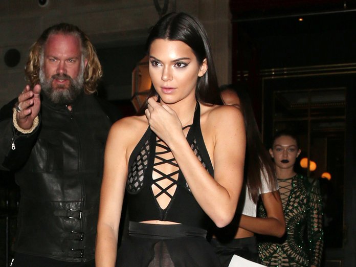 Kendall Jenner Wears A Very NSFW Outfit To Kick Off Paris Fashion Week