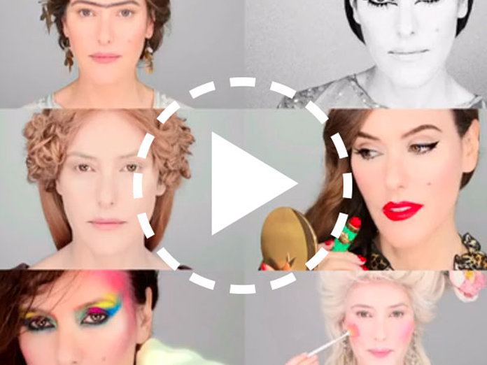 Looking for Halloween Make-Up Inspiration? Watch 5,000 Years Of Makeup In 6.5 Minutes