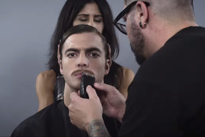 Watch One Man Take On 100 Years Of Hairstyles In 90 Seconds