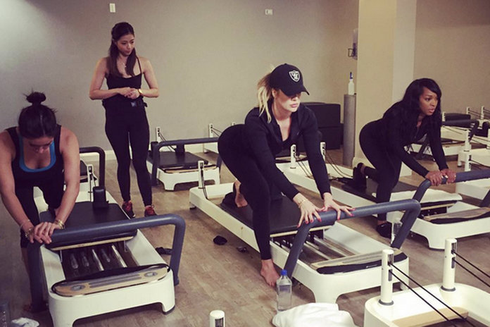 Khloe Kardashian's Festive Workout Tips. Yes, You WILL Be In A Gym On Christmas Day