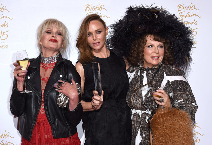 Inside The British Fashion Awards With Karl Lagerfeld, Lady Gaga And Ab Fab