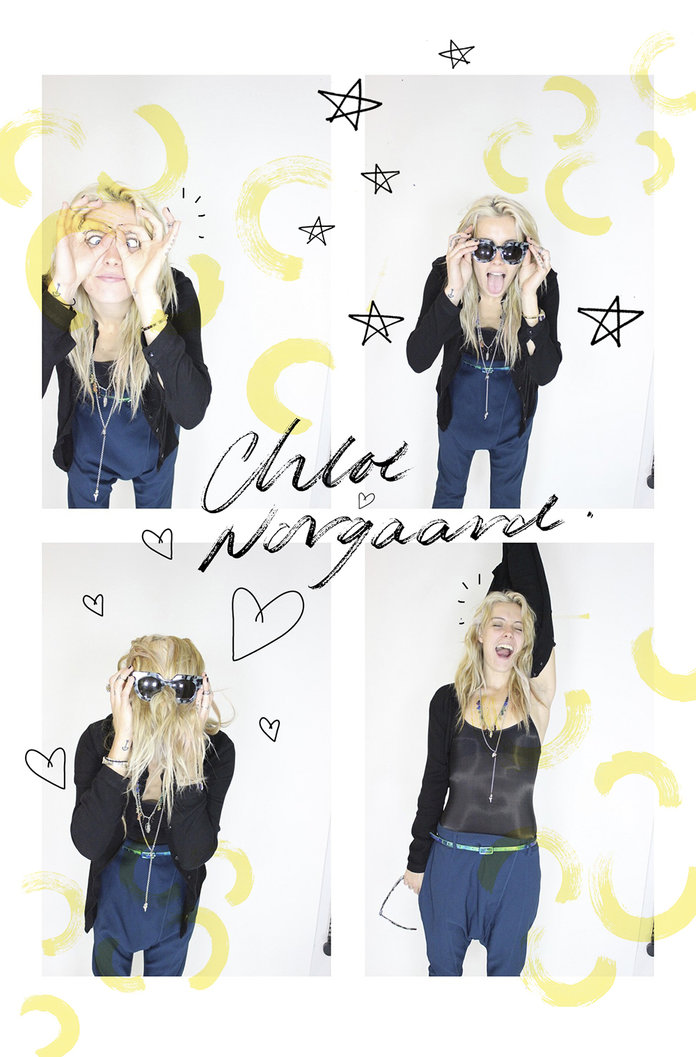 In The Photo Booth With... Chloe Norgaard
