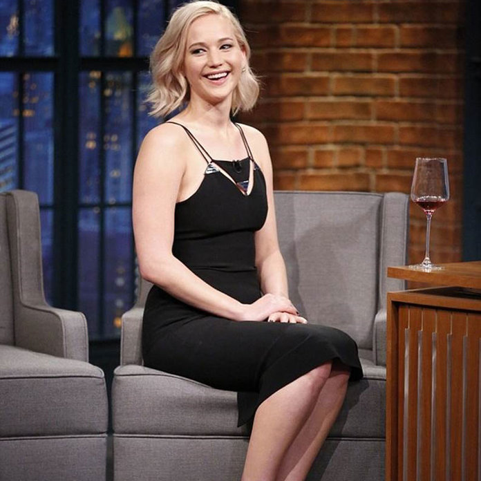 'I Had A Bottle Of Whisky' - J-Law Talks Prepping For Her First Sex Scene (So NSFW)