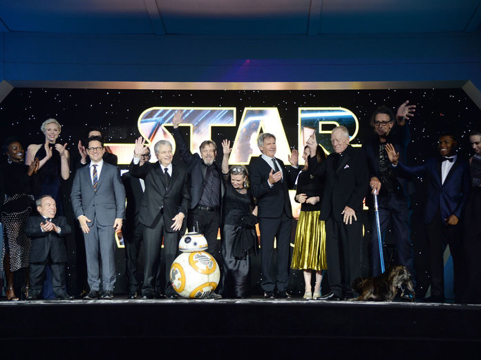 Dogs, Dresses + Lupita's Blue Lip: Why The Star Wars Premiere Was EVERYTHING
