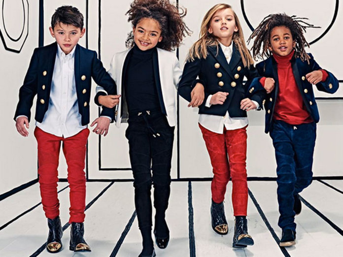 How North West Inspired A New Balmain Collection