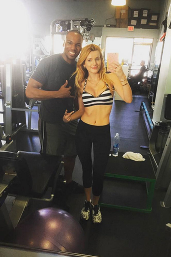 WATCH: Bella Thorne Shows You How To Get Those Flat Abs