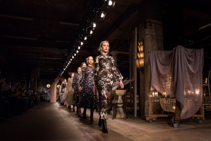 Yesterday At LFW: Everything From Granny Headscarves To Nordic Symbolism
