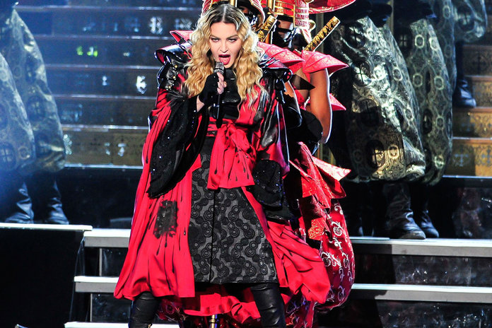 Madonna's Cape, Lenny's Leather + The 6 Most Major Celebrity Wardrobe Malfunctions