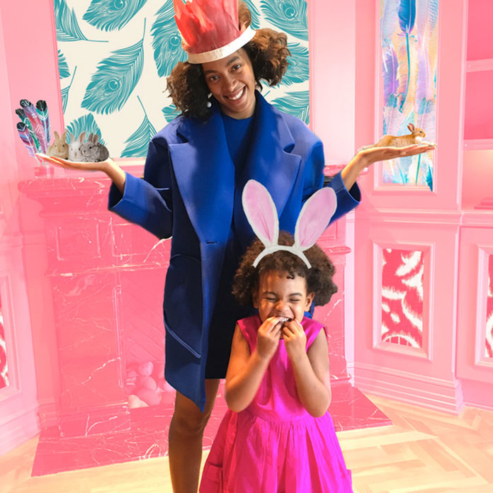 Blue Ivy And Aunt Solange Show Us How To Nail Easter Style