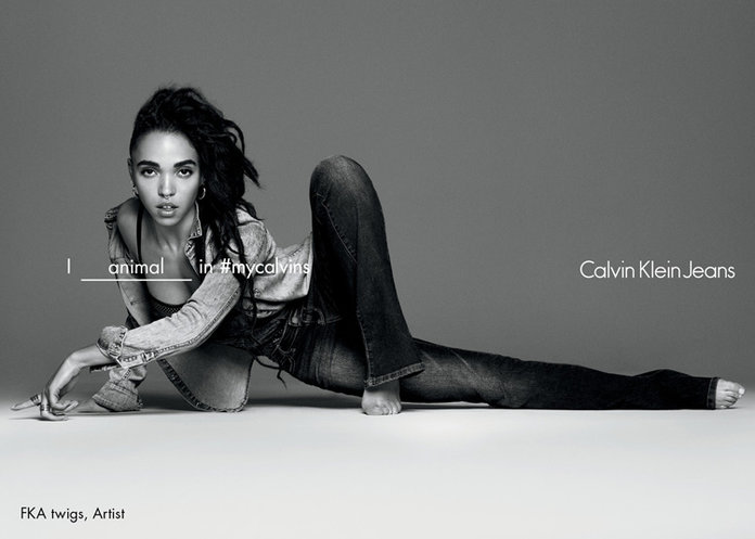 FKA Twigs In Her #Calvins + 15 Spring Fashion Campaigns We Can't Stop Talking About