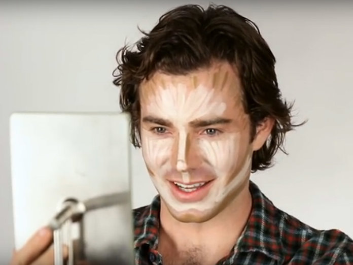 This Is What Happens When Men Try Contouring For The First Time