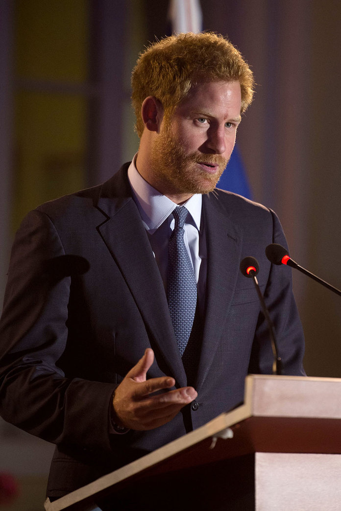 Prince Harry Spoke Up For Women's Rights This Week