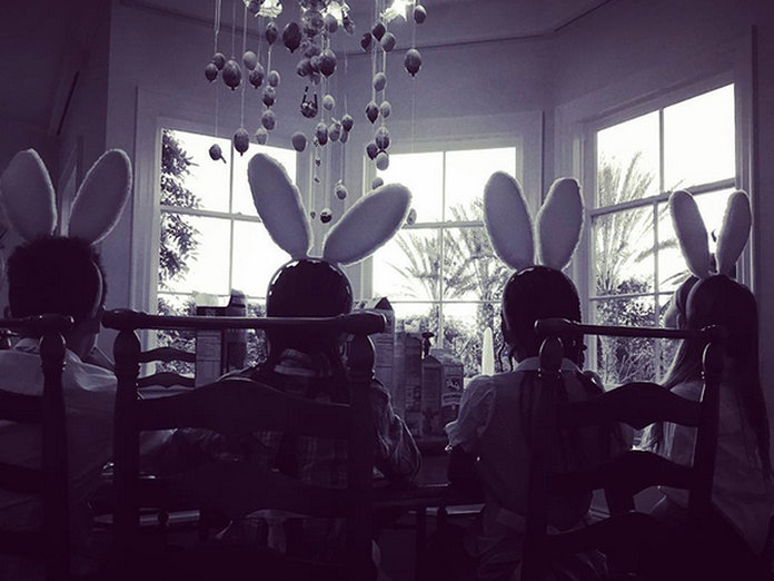 Celebrity Easter Fun: What The A-List Got Up To Over The Weekend