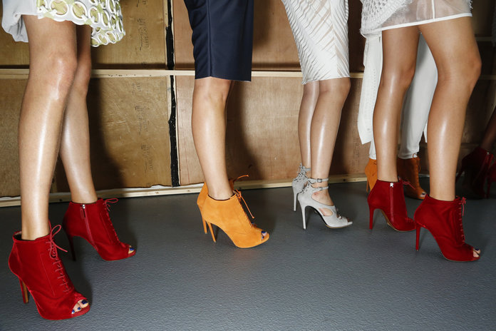 Are You On Board With Bare Leg Season Yet?
