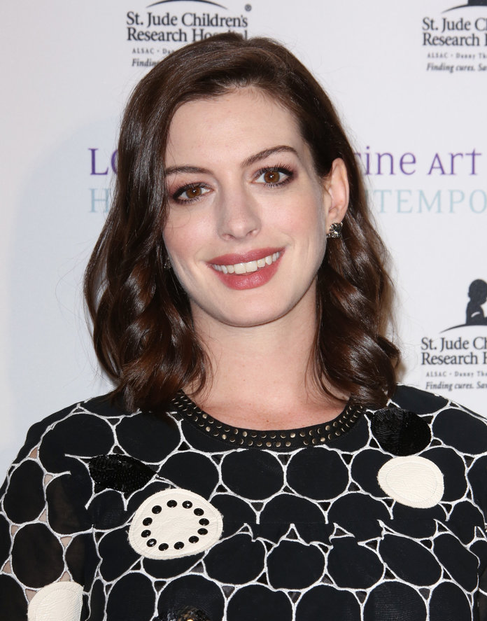 Why Anne Hathaway Is Alive Because of a Diane von Furstenberg Wrap Dress
