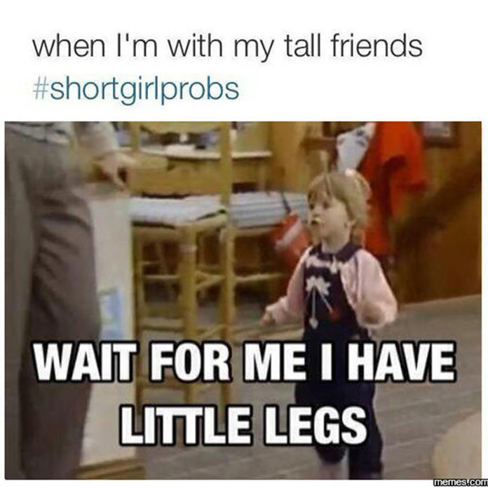 29 #ShortGirlProblems Every Petite Person Can Relate To