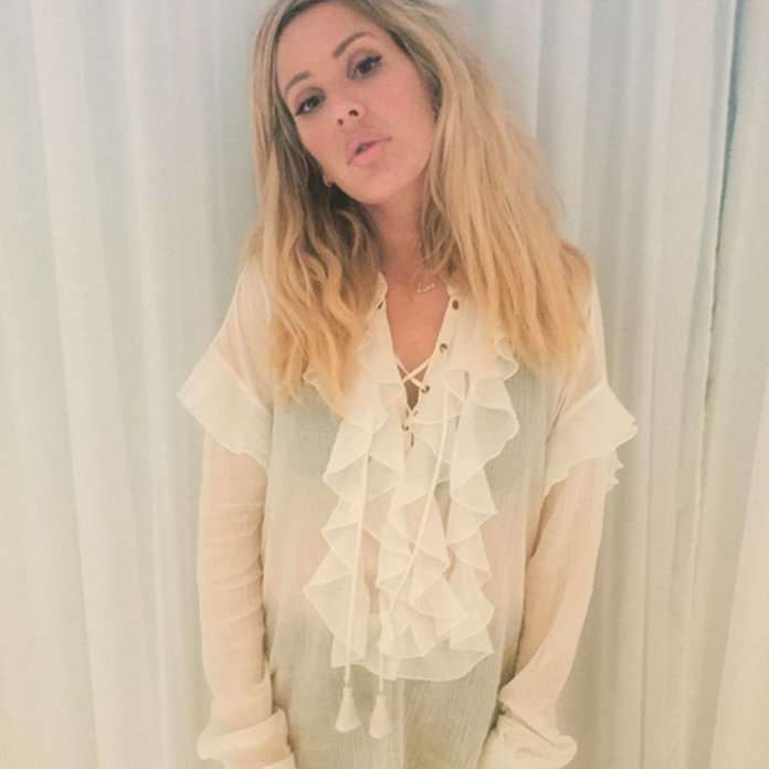 Ellie Goulding's Guide To Getting Party-Ready