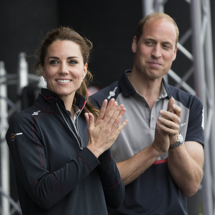 Kate And Wills Do Matching Polos In Portsmouth