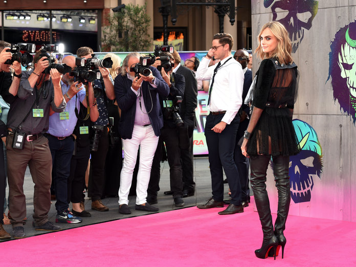 How Cara Delevingne Is Making The Over-The-Knee Boot Cool