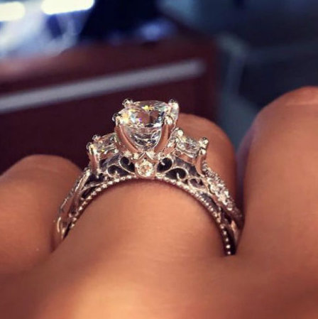 This Is The Most Pinned Engagement Ring On Pinterest