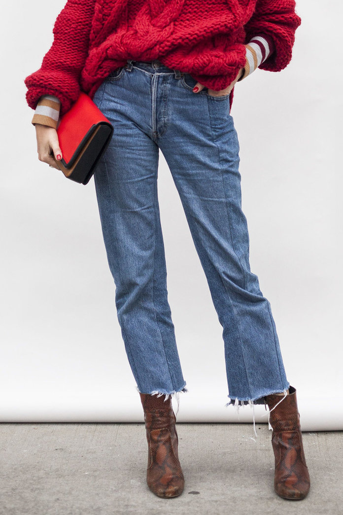 Why You Need Two-Tone Jeans In Your Life