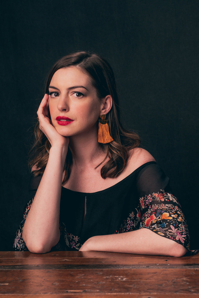 Anne Hathaway On Her Post-Baby Body & Why Burpees Are Suddenly A Breeze
