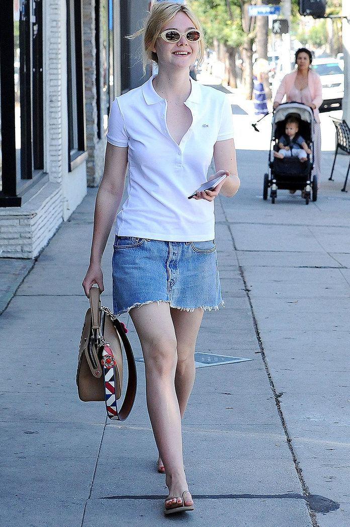 How To Wear A Denim Skirt: 11 Celebrity-Approved Styling Tips