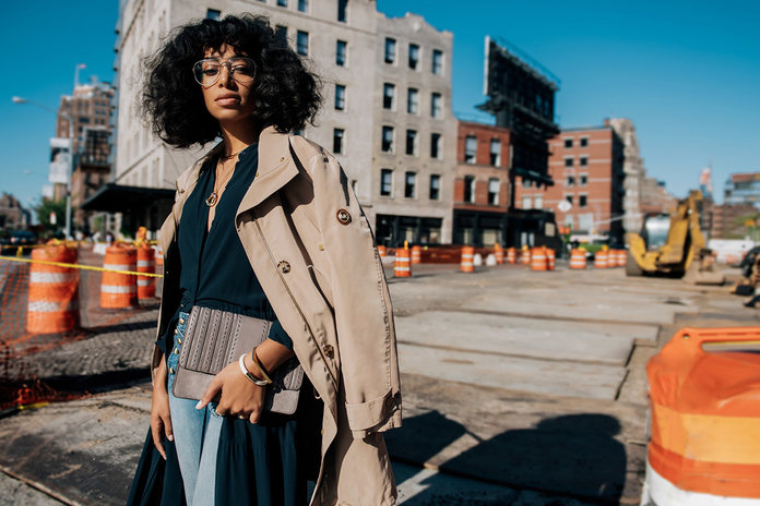 Solange Talks Her Style Inspirations, Bookspo, & Growing Up As A Destiny's Child Dancer