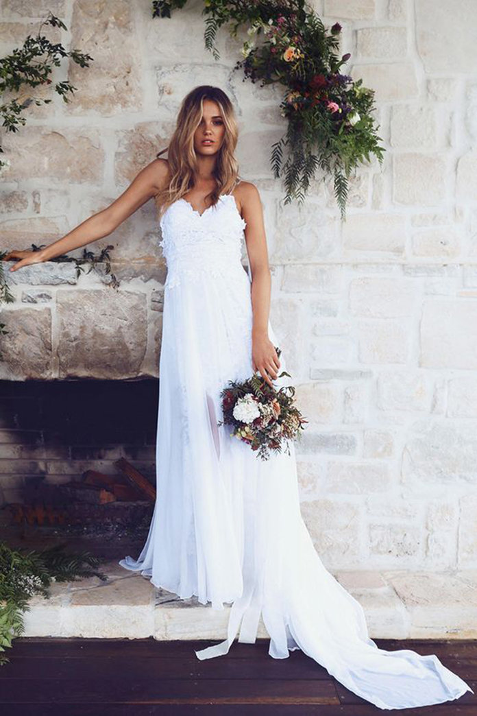 The Most Pinned Wedding Dresses Might Surprise You