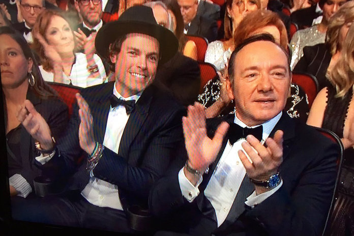 Who Was Kevin Spacey's Hot Neighbour At The Emmys?