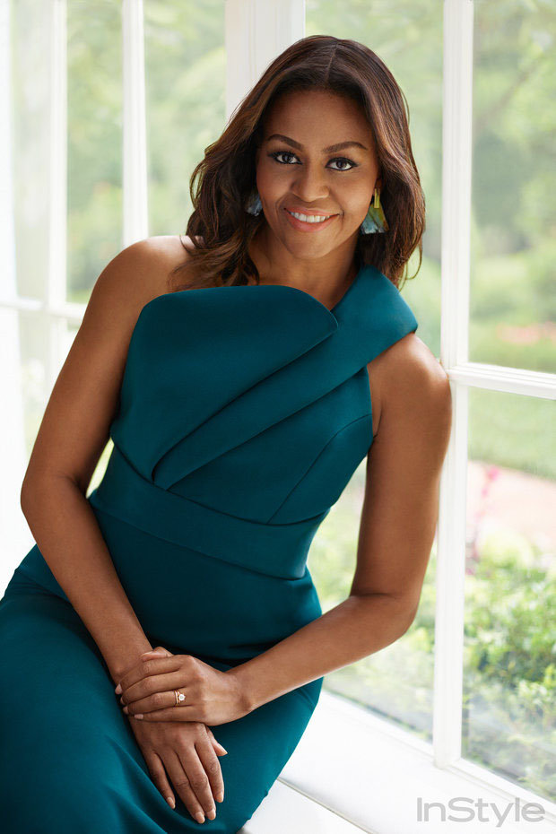 FLOTUS Michelle Obama On Style, Social Media & The Challenges Facing Girls Today