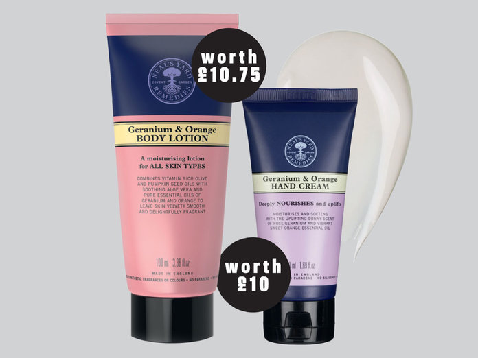 Start Your Autumn Skin Prep With A FREE Neal's Yard Remedies Body Lotion Or Hand Cream