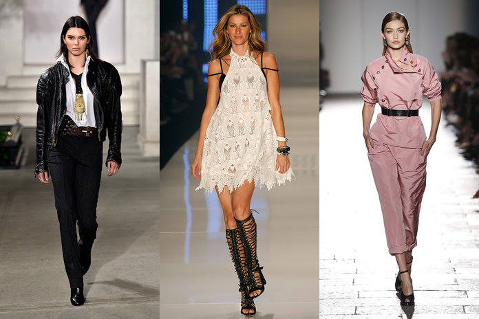 From Kendall To Gigi: The World's Highest Paid Models Of 2016 Are Revealed