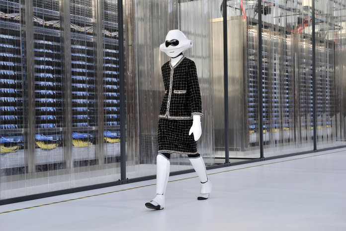Chanel's SS17 Show: Step Inside Karl Lagerfeld's 'Data Centre'