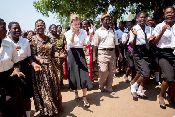 Emma Watson Wore A Completely Eco-Friendly Outfit During Her Trip to Malawi